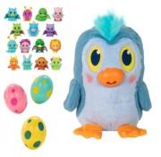 Мягкая игрушка 1TOY Дразнюка-Несушка яйцо-сюрприз Т13658 Пингвинос