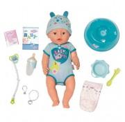 Интерактивная кукла-мальчик  43 см Baby born Soft touch Zapf Creation 824-375 Бэби Борн