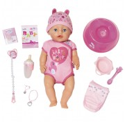 Интерактивная кукла Soft Touch 43 см Baby born Zapf Creation 825-938 Бэби Борн