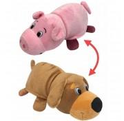 Мягкая игрушка вывернушка Собака-Свинья Т13797-18 1Toy, 20 см