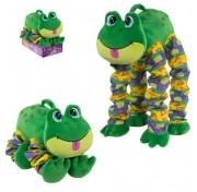 Мягкая функциональная игрушка Пружиножки Лягушка со звуком, Т13881 1TOY