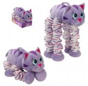 Мягкая функциональная игрушка Пружиножки Котик со звуком, Т13877 1TOY
