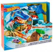 Игровой набор Mattel Hot Wheels FNB21 Хот Вилс Сити - Схватка с акулой