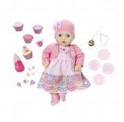 Кукла многофункциональная Праздничная Zapf Creation Baby Annabell 700-600 Бэби Аннабель,43 см
