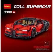 Конструктор Decool Technic Bugatti Chiron красный  3388  3625 детали