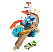Игровой набор трек Hot Wheels Color Shifters: Атака Акулы BGK04 (Порт Акул)