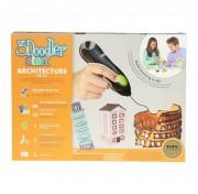 Подарочный набор Архитектор, 3Д Ручка 3Doodler Start, 3DS-ARCP-MUL-R Wobble Works