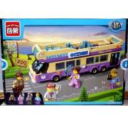 """Пластиковый конструктор """"Туристический автобус"""", 455 деталей  1123"""