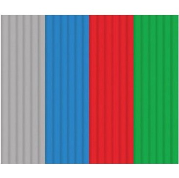 Эко-пластик к 3Д ручке 3DOODLER - Стартовый набор 24 штуки, 4 цвета: серый, синий, красный зеленый Limited, 3DS-ECO-MIX2-24 Wobble Works