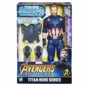 Фигурка Капитан Америка Пауэр Пэк Avengers Movie Captain Ameica E0607121 Hasbro