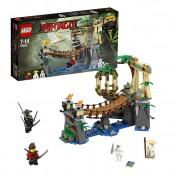 Игровой набор Лего Битва Гармадона и Мастера Ву Lego Ninjago 70608