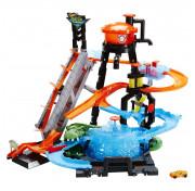 Детский игровой набор Хот Вилс Сити Невообразимая автомойка FTB67 Hot Wheels