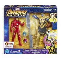 Игровой Набор Мстители фигурки Танос и Железный Человек Avengers Movie E0559121 Hasbro