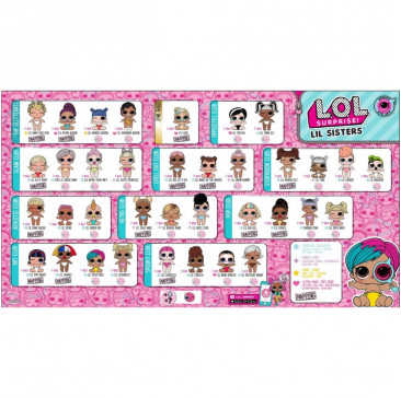 Кукла ЛОЛ Сюрприз маленькие сестренки 4 серия 2 волна Декодер, LOL lil Sisters Eye Spy Series 2 Wave 516289 MGA Entertainment