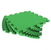 Мягкий пол - пазл 30 МП /361 Зеленый 1 кв.м, 9 деталей 30x30