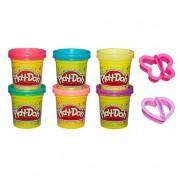 Набор Play-Doh A5417 из 6 баночек Блестящая коллекция
