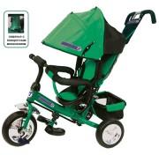 Детский трехколесный велосипед Trike PIONEER с поворотным сиденьем (10/8,ПВХ)