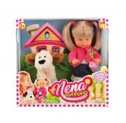 Кукла NENA 36 см с собачкой (без звука) BD385