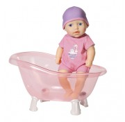 Baby Annabell Zapf Creation 700-044 Бэби Аннабель Кукла с ванночкой, 30 см