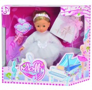 Интерактивная кукла-балерина Bambolina Molly, 40 см. BD1338-M37