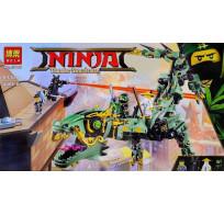 Конструктор BELA Ninja  Механический Дракон Зелёного Ниндзя 10718