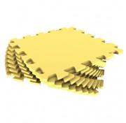 Мягкий пол - пазл 30 МП /120 Желтый 1 кв.м, 9 деталей 30x30