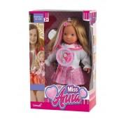 Кукла Bambina Bebe Miss Anna, 40 см, светящиеся волосы Miss Anna, со звуковыми эффектами BD1363NRU-M37