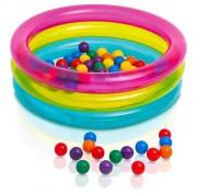 Игровой набор сухой бассейн с шариками Intex 48674