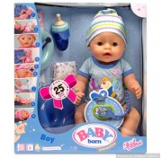 Кукла-мальчик Baby born (Бэби Борн) 822-012 Интерактивная, 43 см