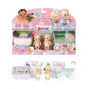 Набор куклы с коляской Baby Secrets Zapf Creation и ванной 930-144 Бэби Секрет
