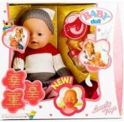 Интерактивная кукла 42 см Baby Doll пупс плачет, пьёт, писает, сосет соску 9 функций 8001-L