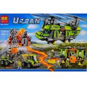 Конструктор Bela City Тяжелый транспортный вертолет Вулкан 10642 1325 деталей