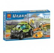 """Конструктор Urban """"Вулканический грузовик"""" 185 деталей Bela 10638"""