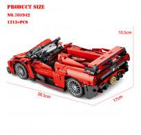 Конструктор 701942 Sembo Block Lamborghini Poison 1213 деталей