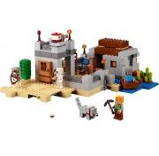 Конструктор Bela 10392 Minecraft Пустынная станция, 519 деталей