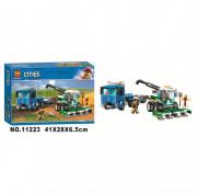 Конструктор City Lari (Бела) 11223 Транспортировщик для комбайнов 370 деталей
