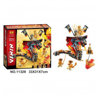 Конструктор LARI (BELA) Ninjago 11329 Огненный кинжал 487 деталей