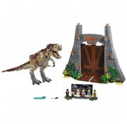 Конструктор Jurassic World LARI (BELA) 11338 Ярость Ти-Рекса 3156 деталей