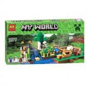 Конструктор Bela Minecraft Ферма 10175 (Аналог Lego Minecraft 21114) 262 дет