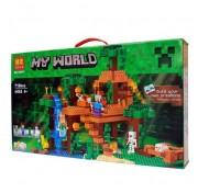 Конструктор Домик на дереве в Джунглях Bela My World 10471