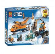 Конструктор BELA Cities 10996 Арктический грузовой самолет