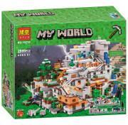 Игровой Конструктор BELA My World 10735 Горная пещера Майнкрафт