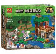 Конструктор BELA My World 10989 Нападение армии скелетов Майнкрафт