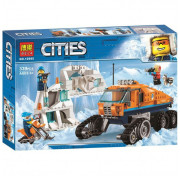 Конструктор BELA Cities 10995 Грузовик ледовой разведки