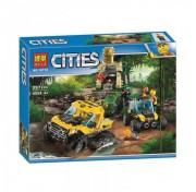 Игровой конструктор BELA Cities 10710 Исследователи джунглей Сити
