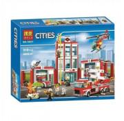 Игровой Конструктор BELA Cities 10831 Пожарная часть