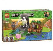 Конструктор BELA Minecraft Голем на ферме 10962 (Аналог LEGO Minecraft) 219 дет