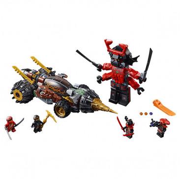 Lego ninjago 70669 конструктор лего ниндзяго земляной бур коула