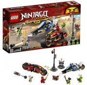 Игровой набор Лего Ниндзяго Мотоцикл-клинок Кая и снегоход Зейна 70667 LEGO NINJAGO