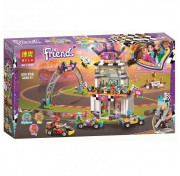 Конструктор Bela Friends 11040 Большая гонка аналог Lego Friends 41352, 654 детали